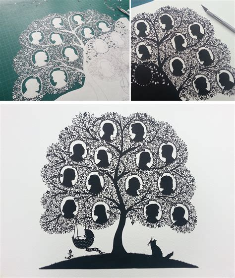 How To Make Paper Cut - artist cuts insanely intricate paper from single