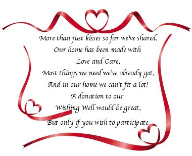 poems for bridal shower invitations money invitation wording