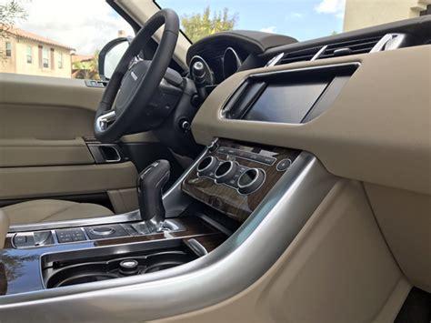 range rover sport interior 2017 2016 range rover sport review road com