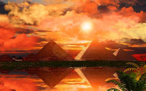 sunset   nile wallpaper  background image