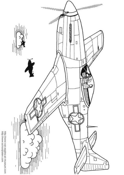 coloring page p  mustang img
