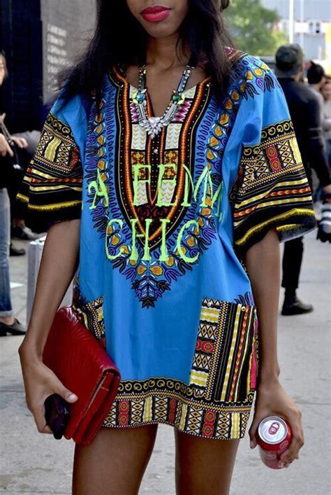 Tribal Blue Chika Dress dress blue dress aztec print tribal pattern streetstyle blouse dashiki