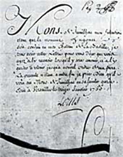 Lettre De Cachet De Louis Xiv Place De La Bastille