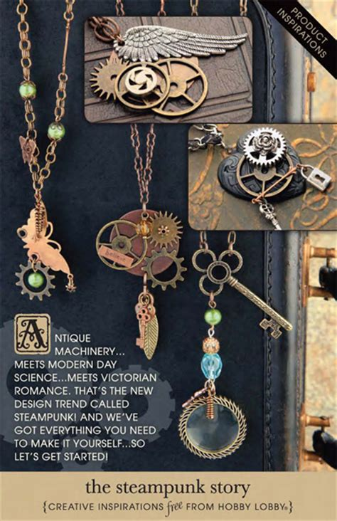 hobby lobby jewelry supplies hobbylobby projects the steunk story