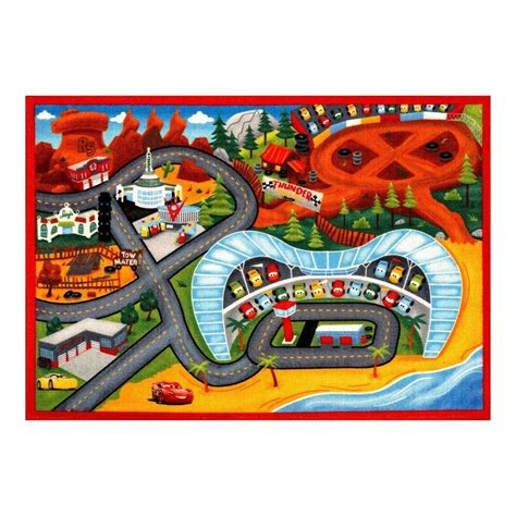 play rugs for cars disney cars rug nitro edition w lightning and mater cars 2 toys rugs