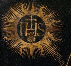 simbolo gesuiti ihs s 237 i h s il triplice e la triade satanica