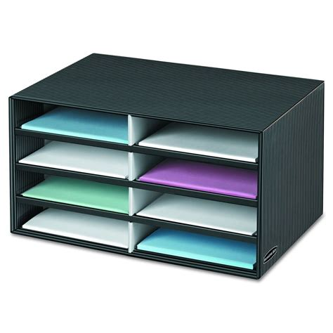 Desk Paper Organizers 8 Slot Letter Paper Sorter Desk Office Mail File Catalog Box Storage Organizer Ebay