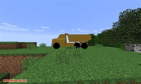 minecraft dump truck heavy machinery mod 1 12 2 1 8 9 download miinecraft org