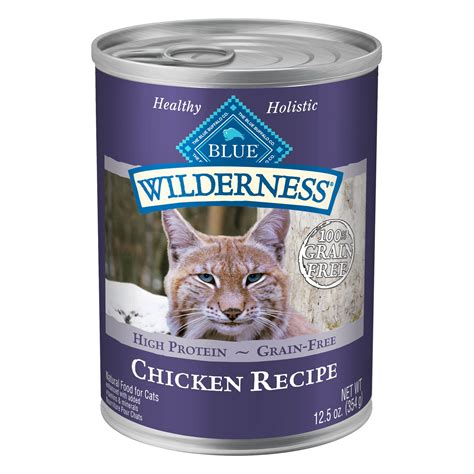 petco blue buffalo food blue buffalo blue wilderness chicken canned cat food petco