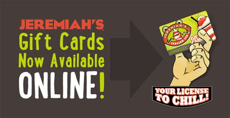 jeremiah s italian ice jeremiah s italian ice - Jlist Gift Card