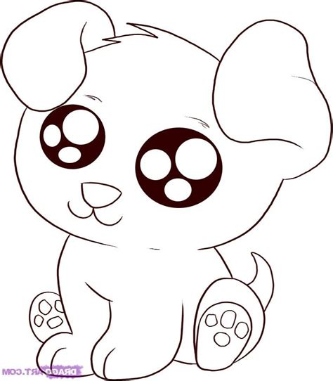 coloring pages of cute animals with big eyes cute cartoon animal coloring pages cute cartoon animals