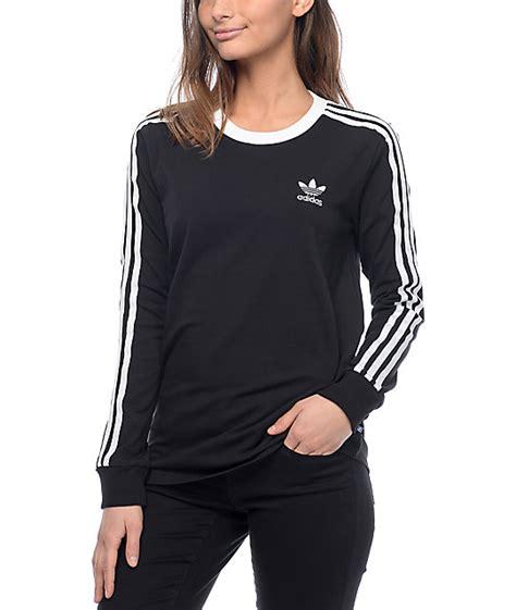 Stripped Longsleeve 3 Adidas 3 Stripe Black Sleeve T Shirt