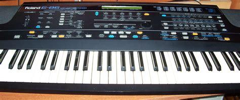 Keyboard Roland E40 roland e 86 image 550501 audiofanzine