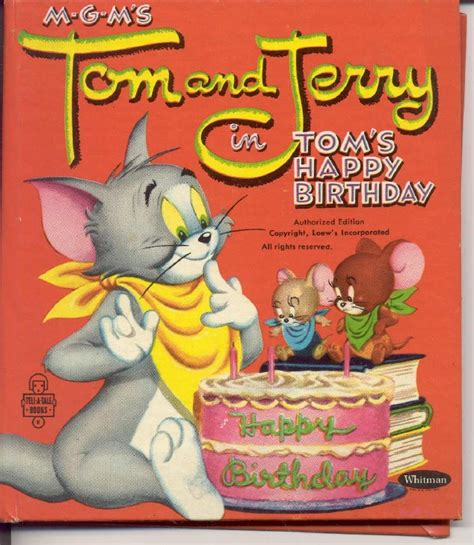 happy birthday tom images tom and jerry wishes you a happy birthday ツ happy