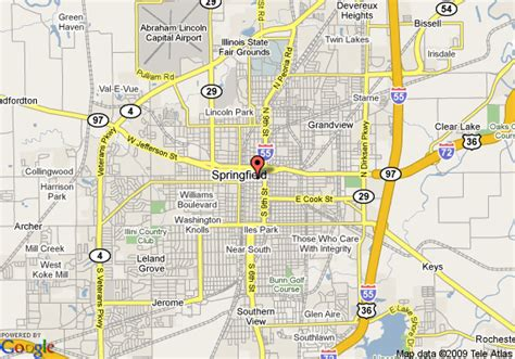 Records Springfield Il Springfield Il Map My