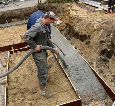 Beton Voor Fundering fundering aanbouw uitbouwkosten nl