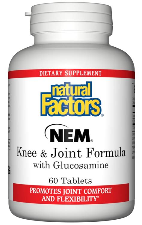 Nature S Health Joint Health 60 Tabs nem knee joint formula with glucosamine factors