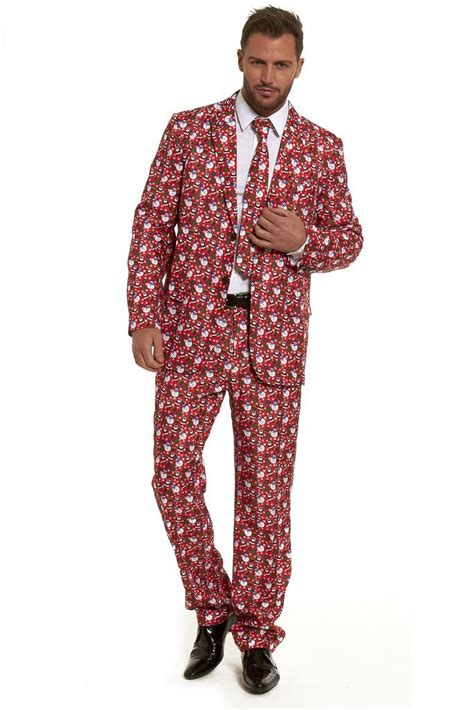 suit for christmas party stag do suits fancy paty mens costume stand out 2018 ebay
