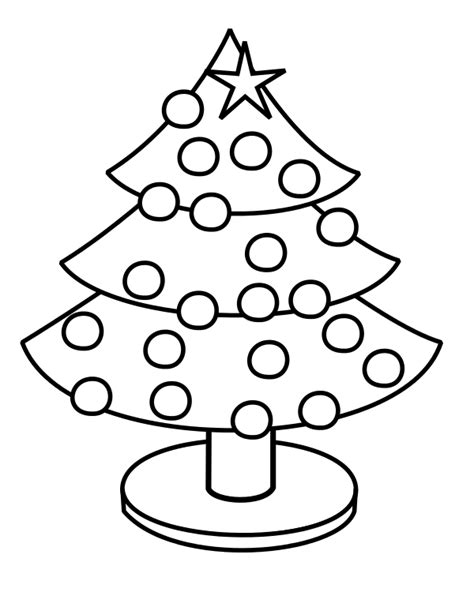 small christmas tree coloring pages wikijunior maze and drawing book decorated holiday tree