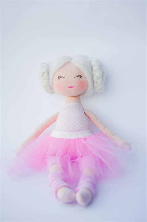 rag doll etsy rag doll ballerina doll doll dolls cloth doll handmade