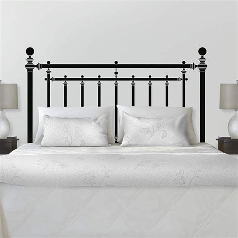 Martha Stewart Headboards by Fathead Martha Stewart Iron Headboard Wall Decal