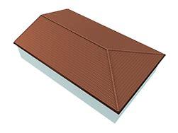 tetto a padiglione dwg preventivo aercoppo aertetto