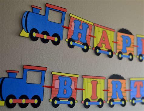 Birthday Train Party Decorations Thomas the Train Train