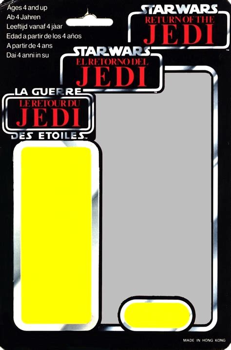 wars figure card template wars