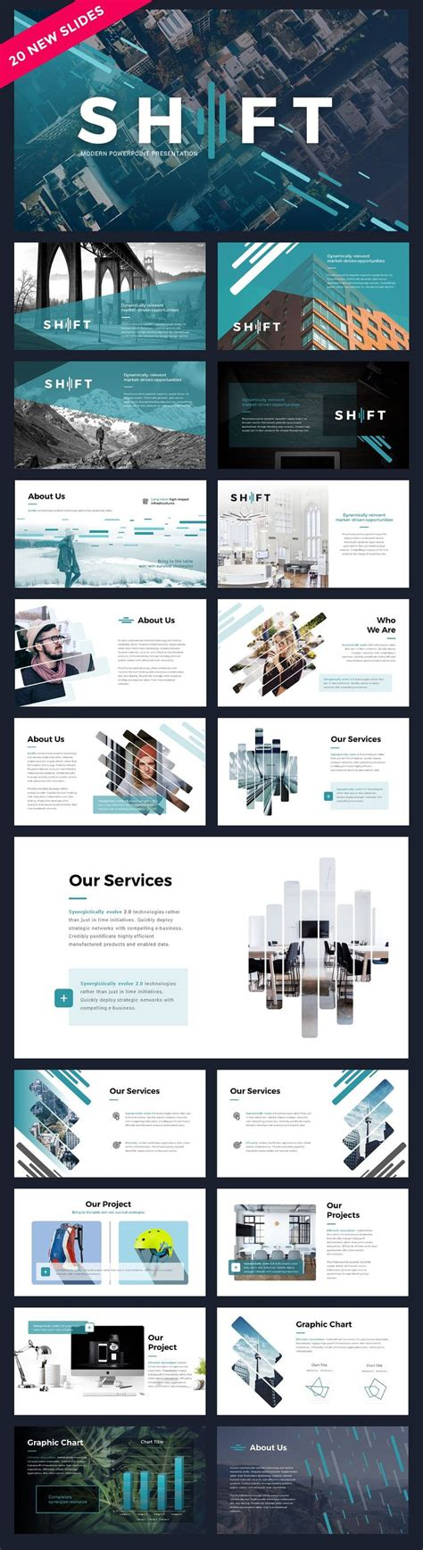 powerpoint design mode shift modern powerpoint template by reshapely on