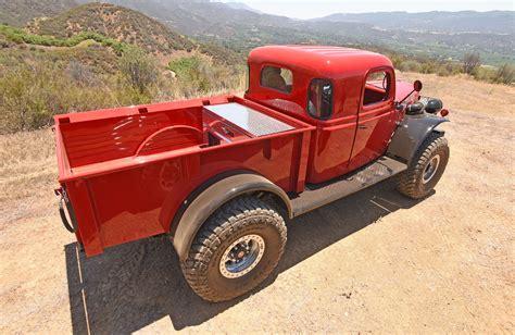 dodge retro truck dodge power wagon offroad 4x4 retro custom