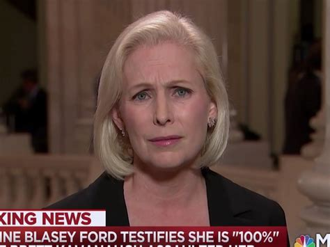 kirsten gillibrand kavanaugh vote gillibrand i was really offended by how kavanaugh