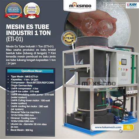 Jual Alat Test Batu Semarang jual mesin es industri 1 ton eti 01 di semarang