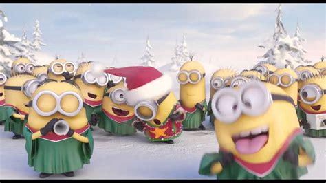 merry christmas minions silent night jingle bell youtube