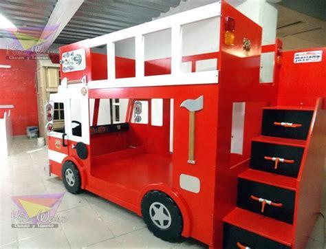 17 mejores ideas sobre camas de camiones de bomberos en