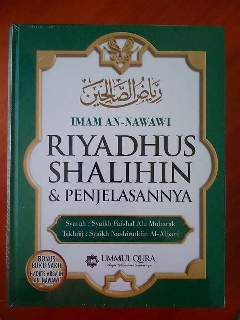 Buku Kitab Misteri Akhir Dunia Darussunnah resensi buku karya besar riyadhus shalihin imam an