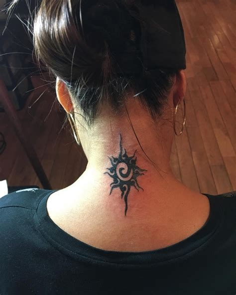 female neck tattoos gallery 30 designs for ideas design trends