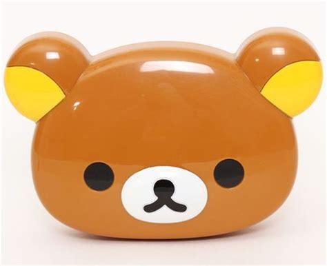imagenes de osito kawaii kawaii brown rilakkuma bear face bento box lunch box