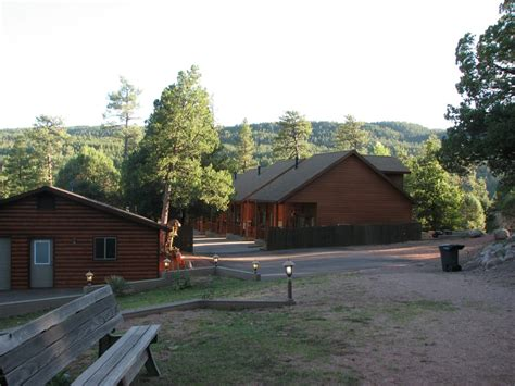 Wooden Nickel Cabins Payson by Looking From The Play Area Towards The Cabins Yelp