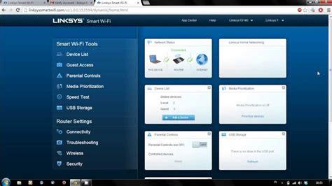 membuat web login wifi cara membuat akun linksys smart wifi youtube