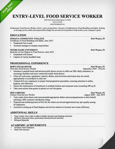 Cover Letter For Food Service – Food Service Assistant Cover Letter Example   icover.org.uk