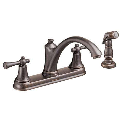 handle kitchen faucet standard portsmouth 2 handle kitchen faucet with