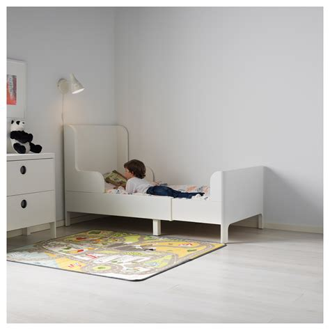 ikea childrens bed busunge extendable bed white 80x200 cm ikea