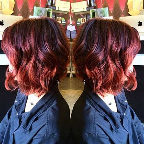 ombre hair color  short hair