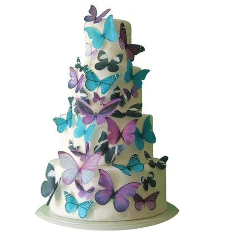 Edible Cake Decorations by New Hair Styles For The 30 Edible Butterflies Cake Decorations Cake Supplies
