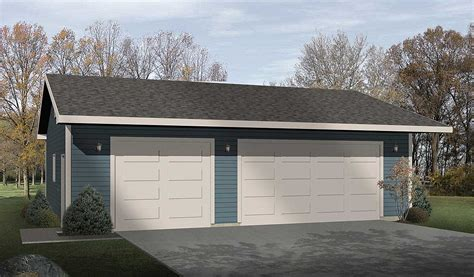 3 car garage plans architectural design simple three car garage 2218sl cad available narrow