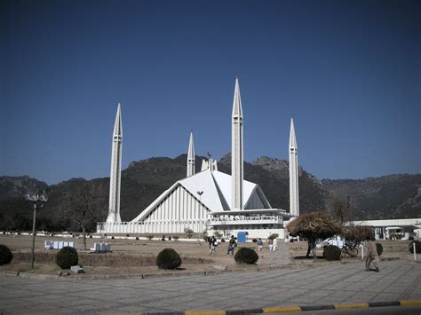 Ac National 1 Pk Second faisal mosque one of the largest mosques of the world