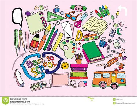 doodle stationery doodle stationery set illustrator line tools