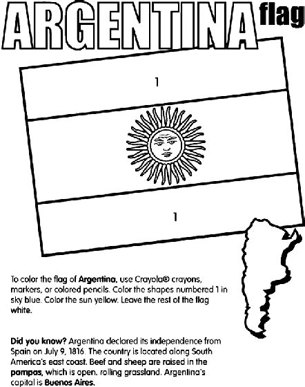 argentina map coloring page argentina coloring page crayola com
