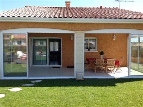 Une Veranda by Fermer Une Terrasse Couverte En Veranda Kirafes