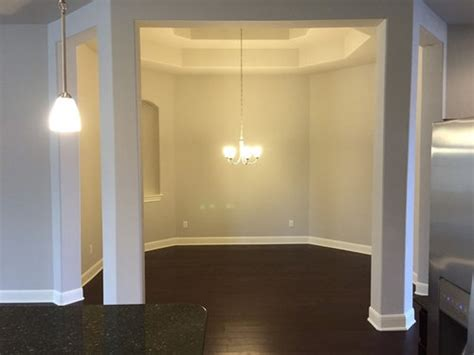 octagon spaced dining room
